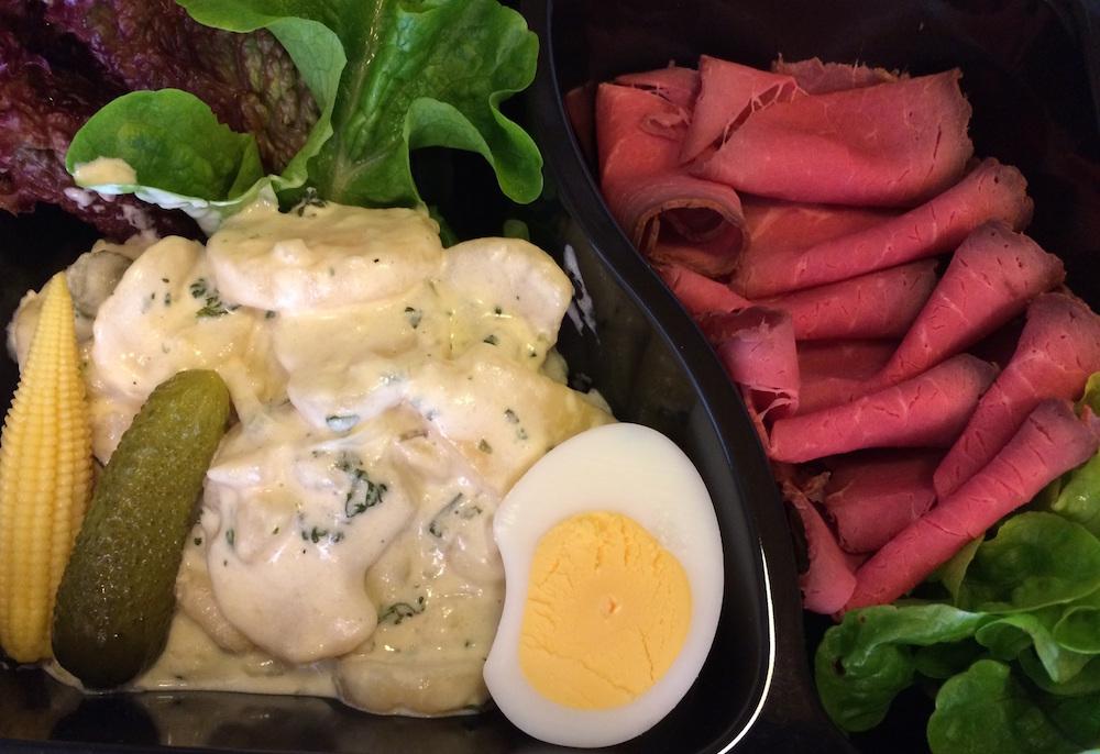 Restaurant zu Hause Mahlzeitendienst Basel Roastbeef